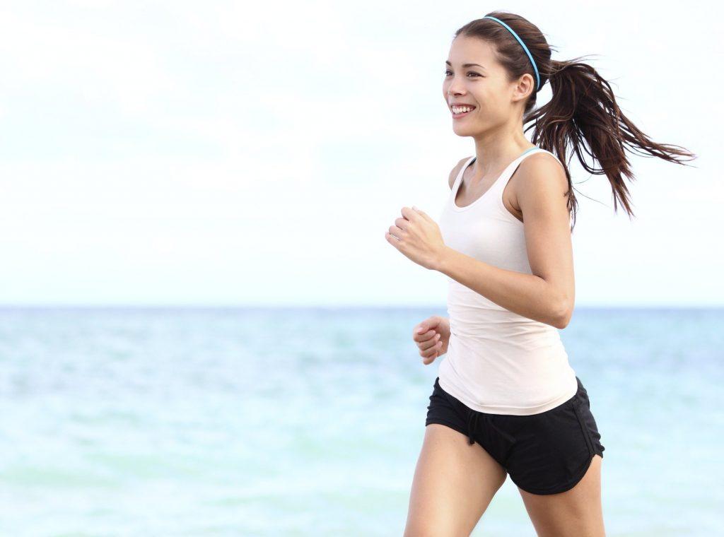 Tập thể dục gây đổ mồ hôi