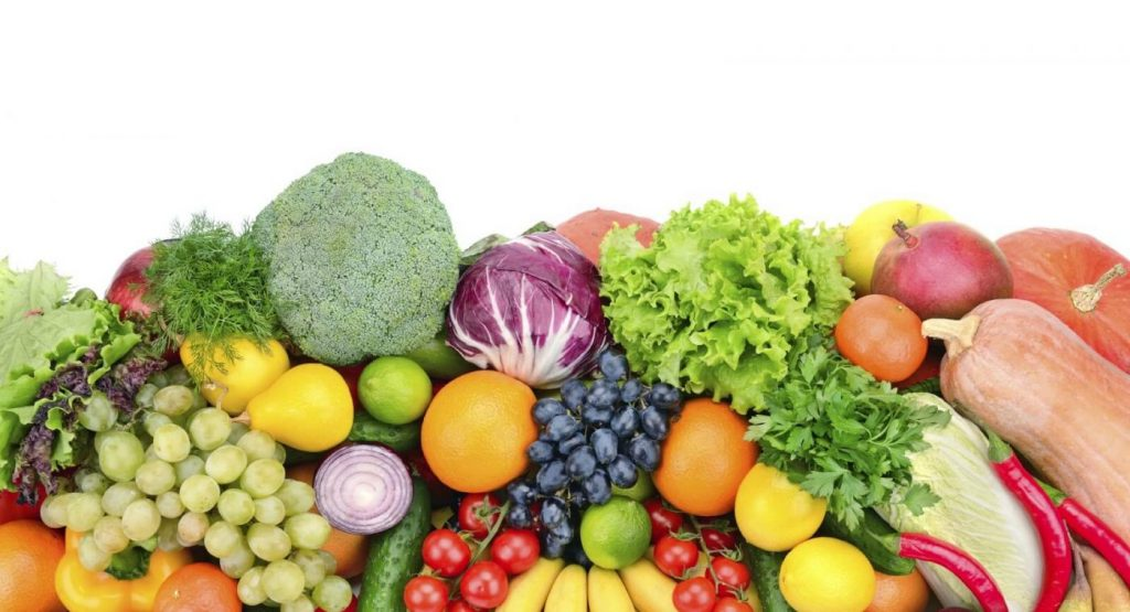 Ăn nhiều trái cây, rau quả